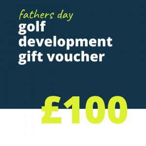 100 FD golf gift voucher