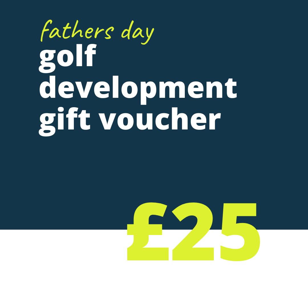 25 FD golf gift voucher
