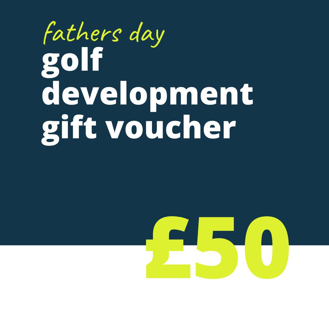 50 FD golf gift voucher